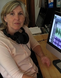 Eileen Mcadam, digital sound recording, library specialist, sound and story project